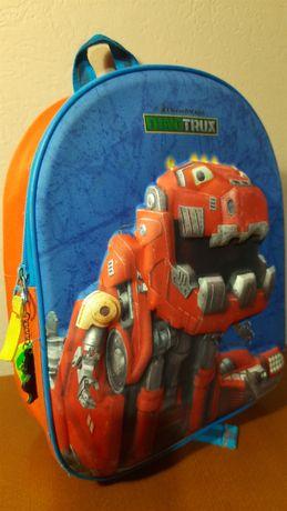 Детский рюкзак Dinotrux Динотракс Робозавр 3D