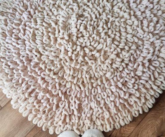 Большой плюшевый коврик с ворсом, фотозона, ручная работа