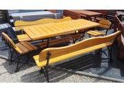 Meble ogrodowe drewniane, mebelki drewniane, zestawy mebli drewnianych