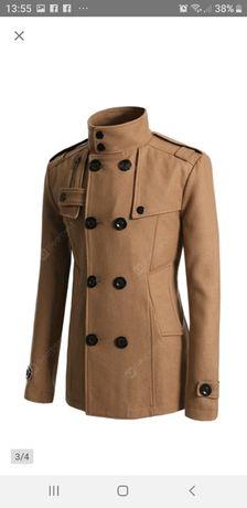 Płaszcz męski welniany