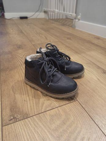 Buty dzieciece zimowe ZARA rozmiar 25