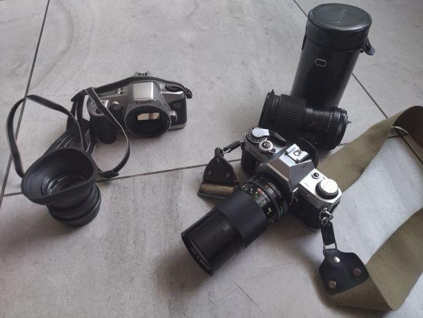 Stare aparaty z Cannona