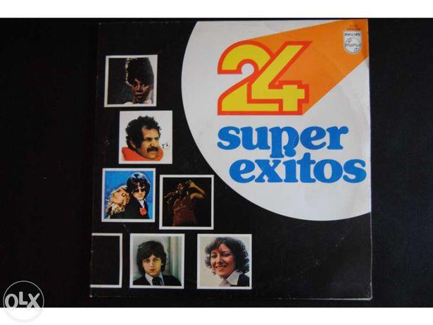 LP Duplo - 24 Super Êxitos (Anos 70)