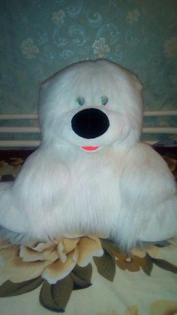 Продам большую мягкую игрушку,,,белий медведь,,