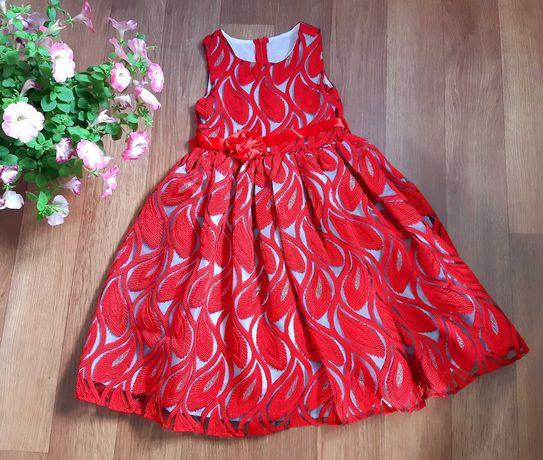 Нарядное детское платье. Платье для девочки 7-12лет. Детское платье