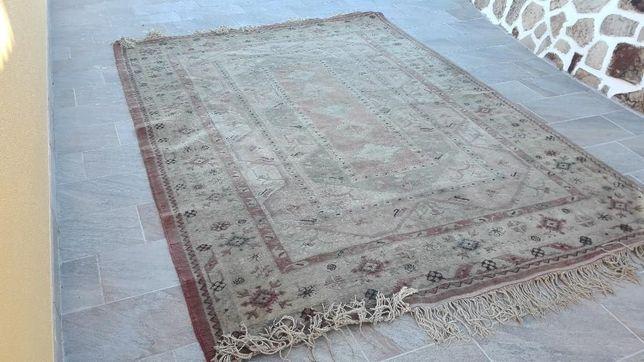 Tapete de lã de 3,36 X 2,45
