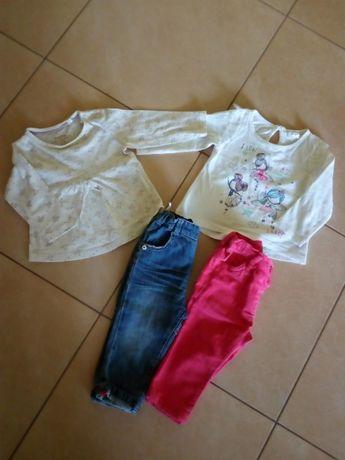 Tanio 3,75 sztuka - Bluzki i spodnie
