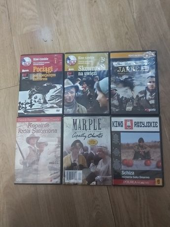 Komplet sześciu płyt dvd