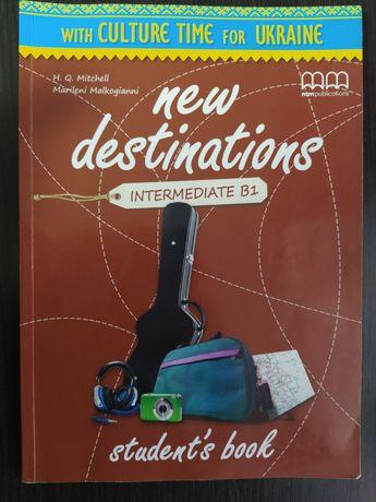 New Destinations Intermediate B1 (цена за 2 книги)