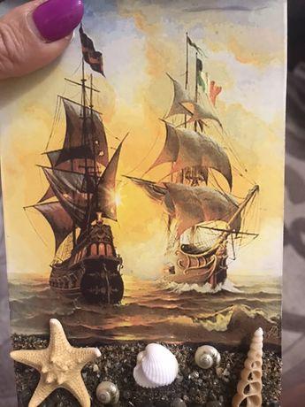 Картина Морской шторм