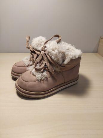 Zimowe buty Zara rozm. 21