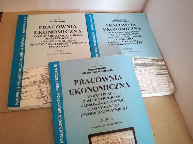 książka pracownia ekonomiczna część 1,2