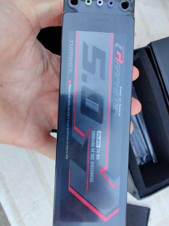 Bateria 5000mAh 4s 90c turnigy graphene, para drone ou carro RC, nova