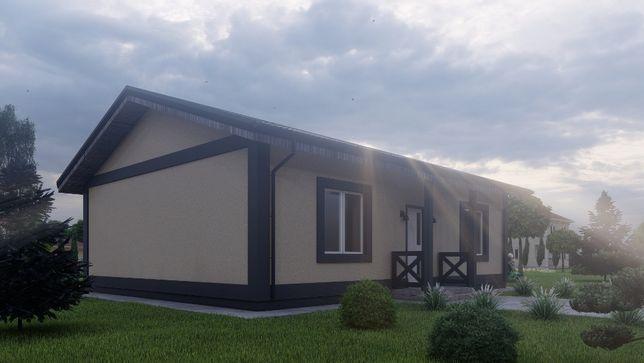 Продам готовый Одноэтажный дом у леса.Охрана городка. Стоянка2. Ирпень