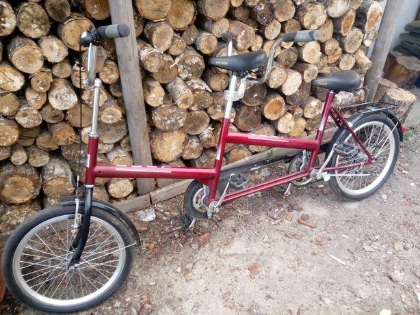 Rower dwuosobowy
