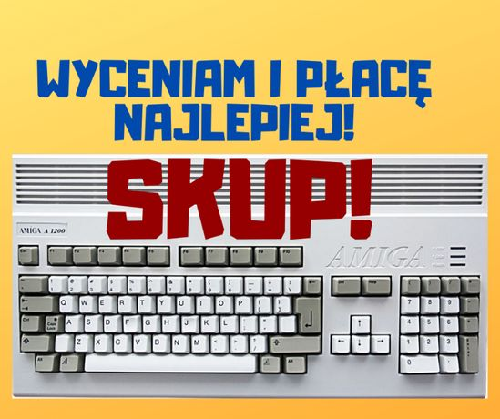 SKUP! Amiga 500,600,1200, Commodore, Atari, CD32, 65XE, Gry PC 800xl