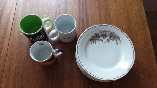 Посуда тарелки чашки