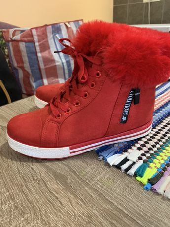 Зимние кеды, ботинки, кроссовки