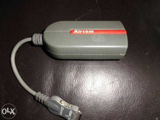 Cabo XIRCOM 33.6Kbps - (para ligar a Carta PCMCIA - modem)