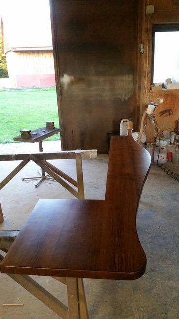 Parapety drewniane dla twojego domu dąb buk jesion sosna dębowy