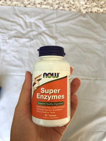 Suplemento Super Enzymes NOW