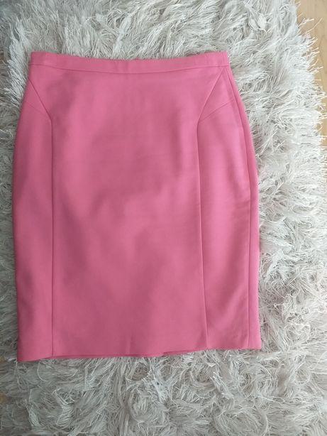 Spódnica Mohito ołówkowa różowa rozm.40 L