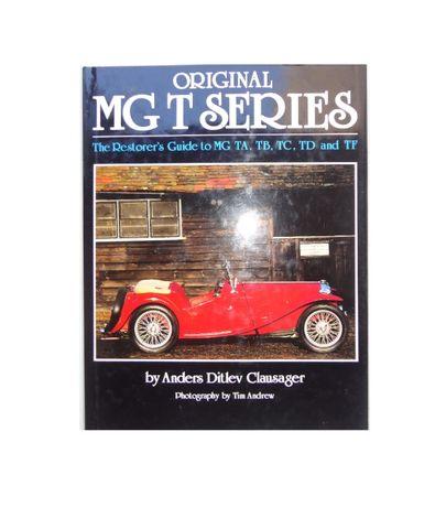 "Livro ""Original MG T Series"""