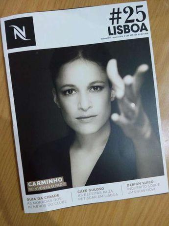 Nespresso número #25 revista Outono Inverno 2015 - NOVO