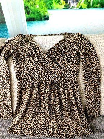 Nowa bluzka, panterka S