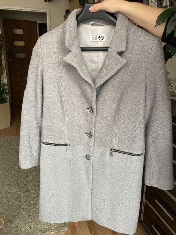 Ryłko płaszcz wełniany szary damski Rozmiar 40