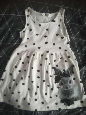 Sprzedam sukienkę na dziewczynkę rozmiar 98 /104 z h&m