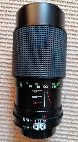 Zoom da marca Vivitar para máquina fotográfica analógica