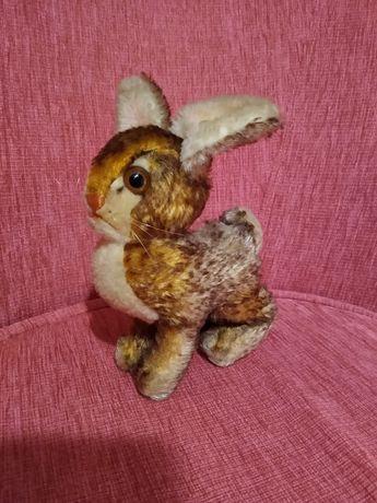 Steiff królik Ossi kolekcjonerski lata 60 te