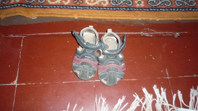 Кожаные сандали 20р.