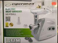 Maszynka do mięsa Nowa lata Gwarancji Esperanza Lombard Madejsc