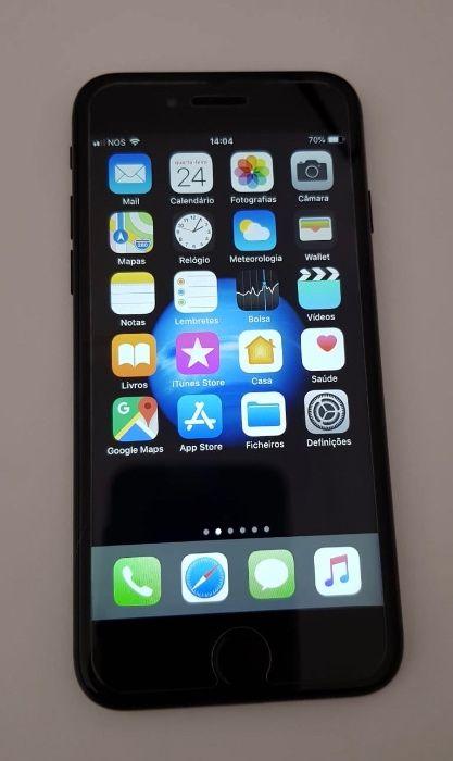 iPhone 7 preto 128gb Desbloqueado com caixa Algueirão-Mem Martins - imagem 1
