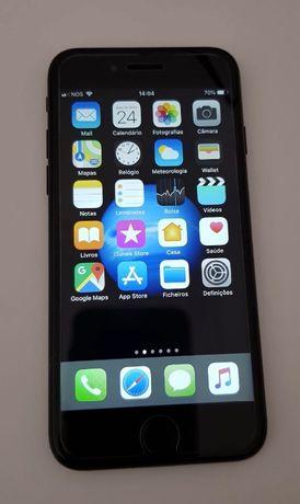 iPhone 7 preto 128gb Desbloqueado com caixa