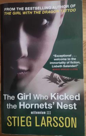 """The Girl Who Kicked The Hornet's Nest"" de Stieg Larsson"