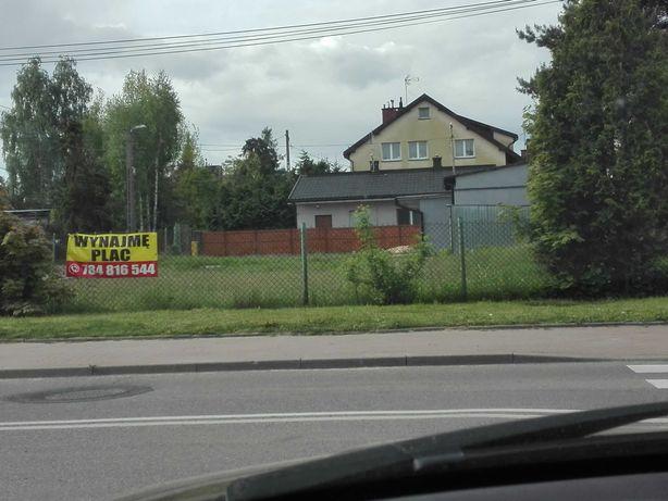 Wynajmę plac w Sulejówku, 700 m od PKP, blisko Kocioła