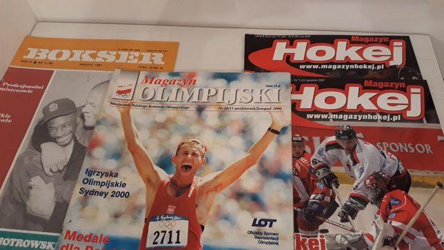 Magazyn Olimpijski - Sydney 2000, Hokej XII 2007, V 2008,Bokser III 93