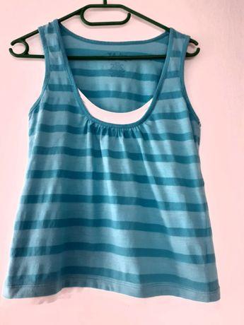 Piękna błękitna bluzeczka w rozmiarze L