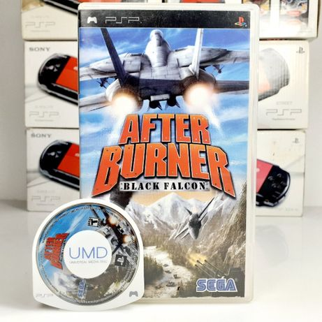AFTER BURNER Black Falcon SONY PSP symulator lotu #99