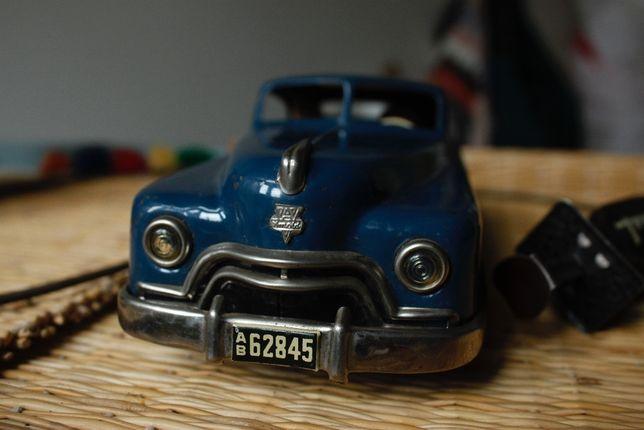 """Brinquedo antigo(RARO), """"ARNOLD PRIMAT"""", carro em lata, 1949, ALEMÃO"""