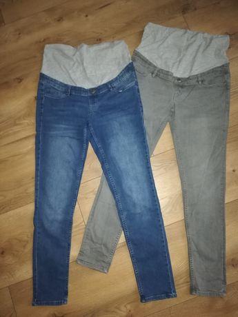 Para ciążowych spodni jeans. Rozm.42