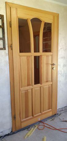 Drzwi sosnowe wewnetrzne Janosik