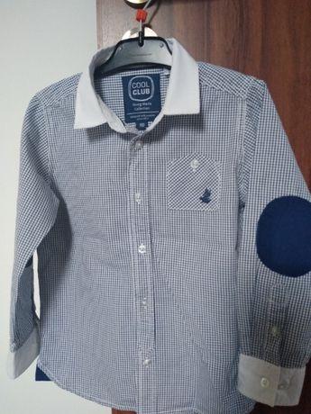 Elegancka koszula chłopięca 110 r