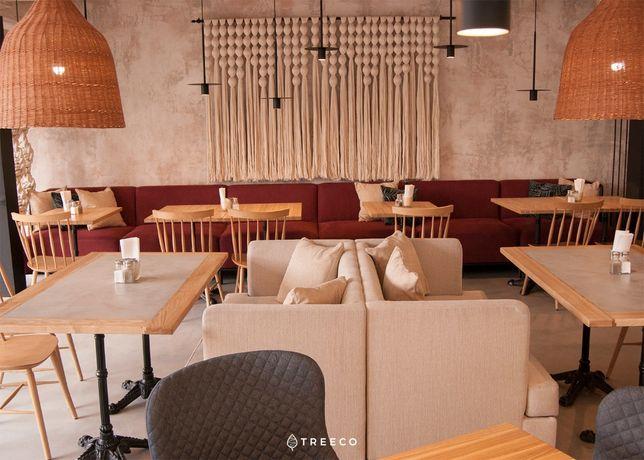 Мебель для ресторана, кафе, бара, кофейни. ДСП, металл, дерево, шпон