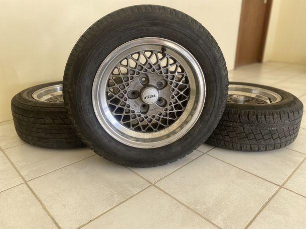 """Jantes 15"""" 5x112 Raras Rial Mesh Mercedes AMG SL w123 w201 w115 w116"""