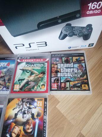Konsola PlayStation 3 160GB [PS3] z grami