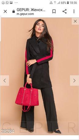 Супер цена! Кашемировое пальто. Черное. Размер М.Смотрите замеры!